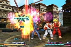 Project X Zone Screenshot