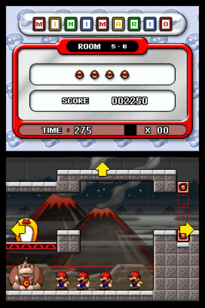 Mario vs. Donkey Kong 2: March of the Minis Review - Screenshot 1 of 3