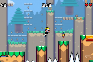 Mutant Mudds Deluxe Screenshot
