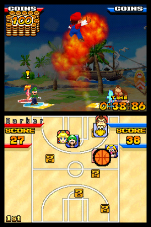 Mario Hoops 3 on 3 Review - Screenshot 3 of 4