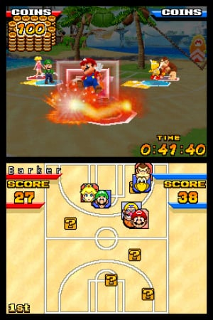 Mario Hoops 3 on 3 Review - Screenshot 1 of 3