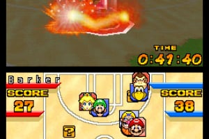 Mario Hoops 3 on 3 Screenshot