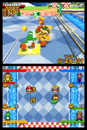 Mario Hoops 3 on 3 Review - Screenshot 1 of 3