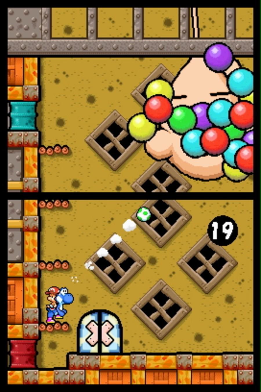 Yoshi's Island DS Screenshot