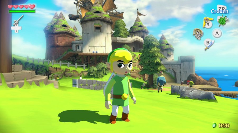 The Legend of Zelda: The Wind Waker HD Review - Screenshot 1 of 8