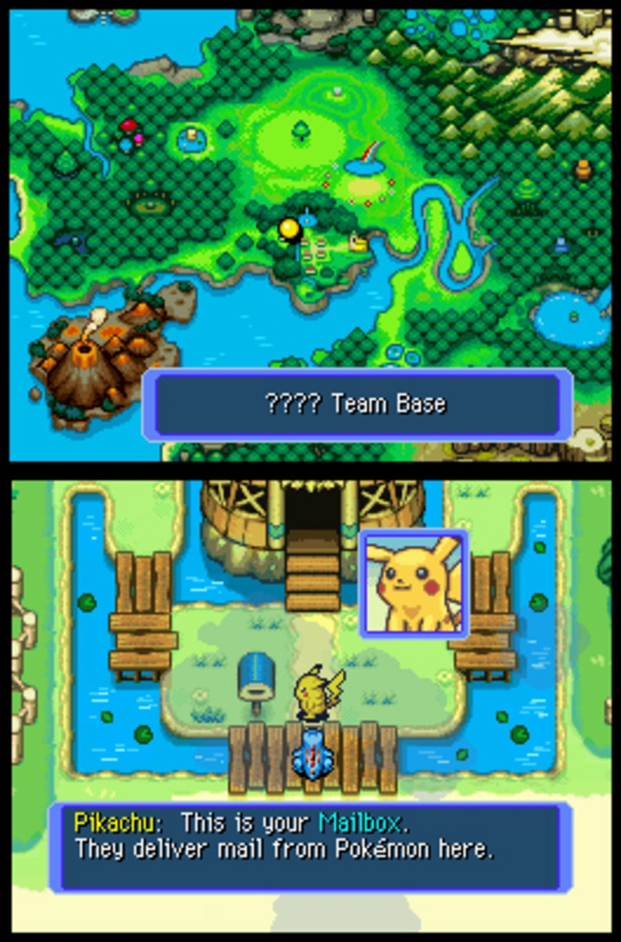Pokémon Mystery Dungeon: Blue Rescue Team Screenshot
