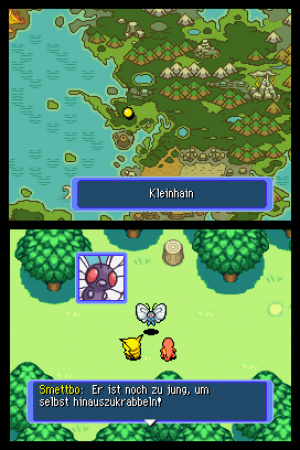 Pokémon Mystery Dungeon: Blue Rescue Team Review - Screenshot 1 of 4