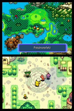 Pokémon Mystery Dungeon: Blue Rescue Team Review - Screenshot 3 of 4