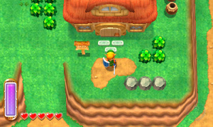 The Legend of Zelda: A Link Between Worlds Review - Screenshot 2 of 9