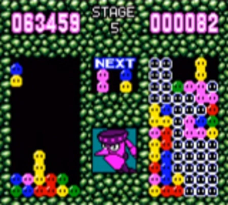 Dr Robotnik's Mean Bean Machine Screenshot