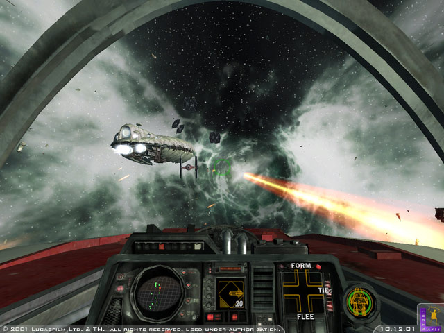 Star Wars Rogue Squadron II: Rogue Leader Review (GCN