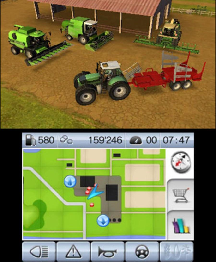 Farming Simulator 3D Screenshot