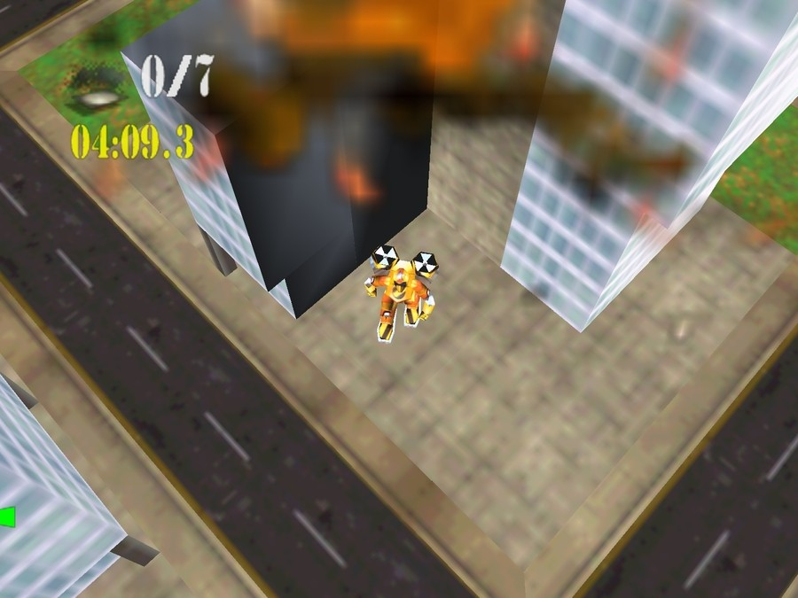 Blast Corps Screenshot