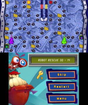 Robot Rescue 3D Review - Screenshot 1 of 4