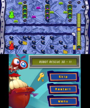 Robot Rescue 3D Review - Screenshot 2 of 4