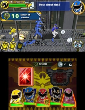 Power Rangers Megaforce Review - Screenshot 4 of 6