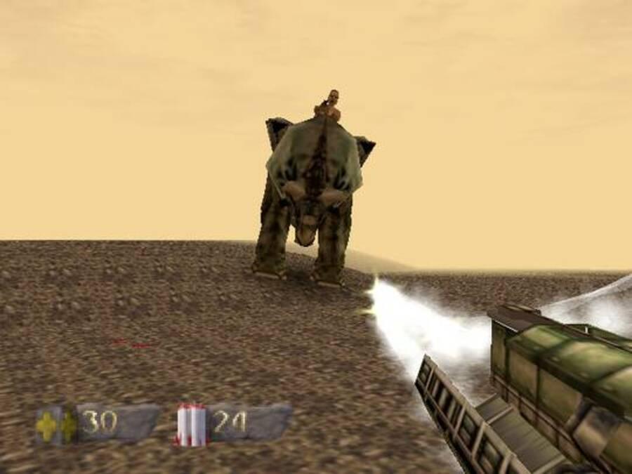 Turok: Dinosaur Hunter Screenshot