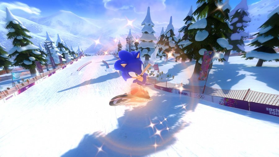 Mario & Sonic at the Sochi 2014 Olympic Winter Games Review - Screenshot 3 of 7