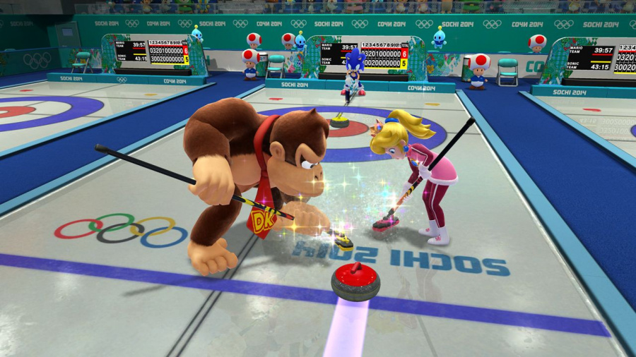 Mario & Sonic at the Sochi 2014 Olympic Winter Games Review - Screenshot 5 of 7