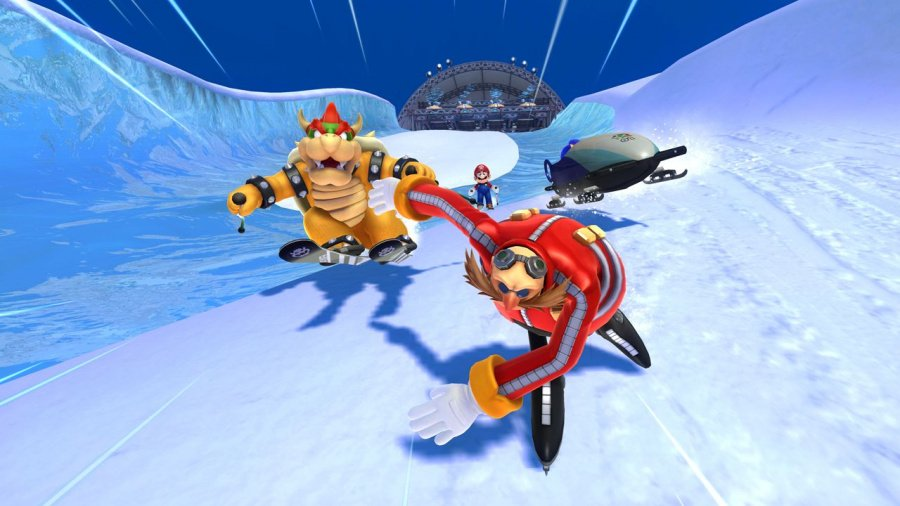 Mario & Sonic at the Sochi 2014 Olympic Winter Games Review - Screenshot 4 of 7