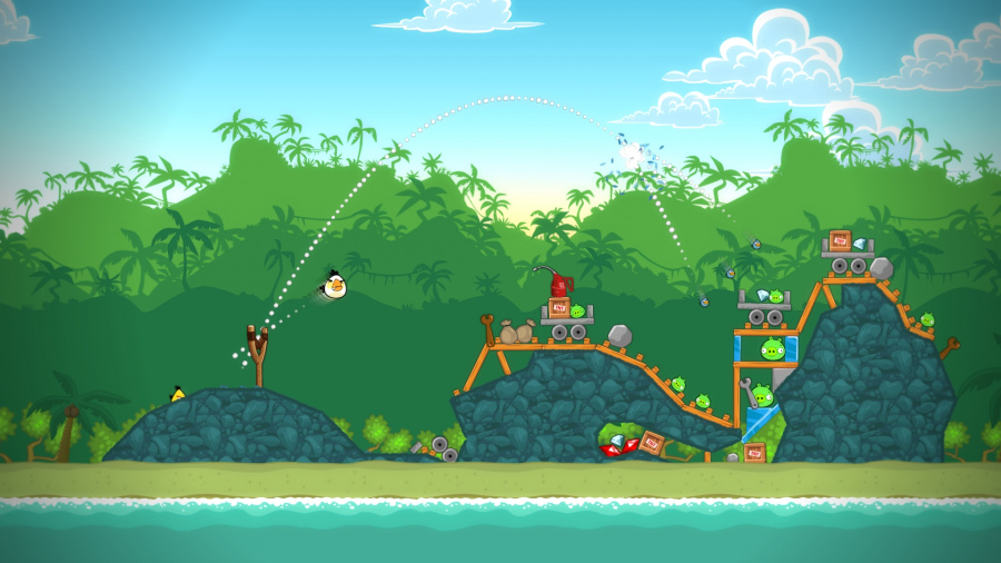 Angry Birds Trilogy Review - Screenshot 1 of 3