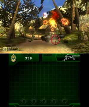 Heavy Fire: Black Arms 3D Review - Screenshot 2 of 3