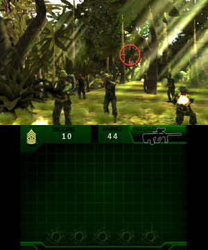 Heavy Fire: Black Arms 3D Review - Screenshot 3 of 4