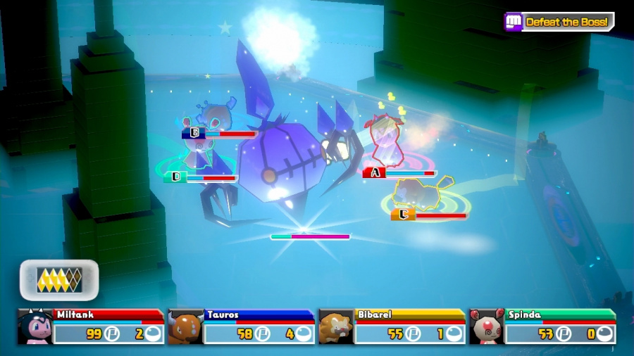 Pokémon Rumble U Review - Screenshot 4 of 5