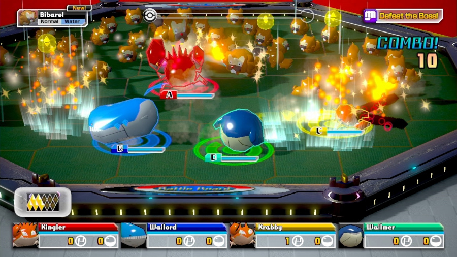Pokémon Rumble U Review - Screenshot 2 of 5