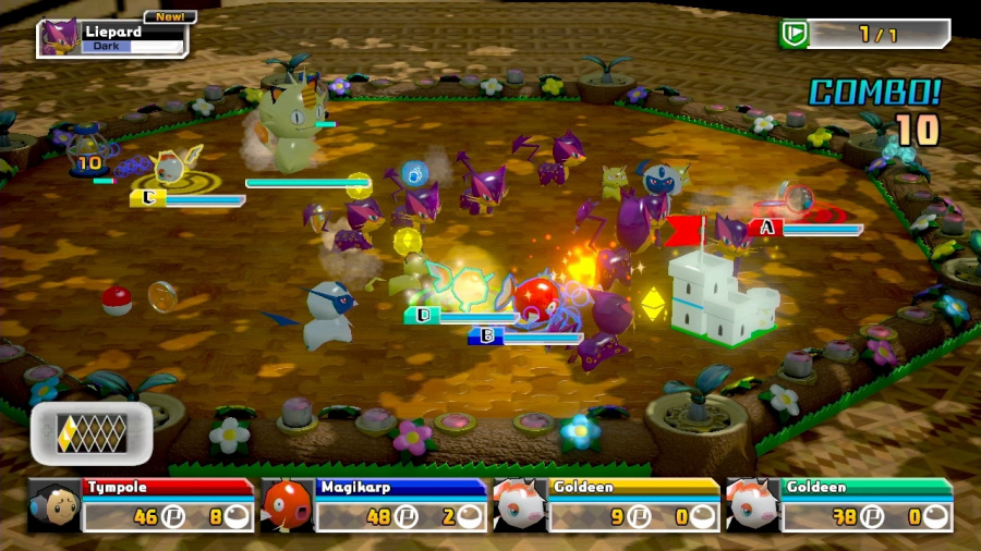 Pokémon Rumble U Review - Screenshot 1 of 5