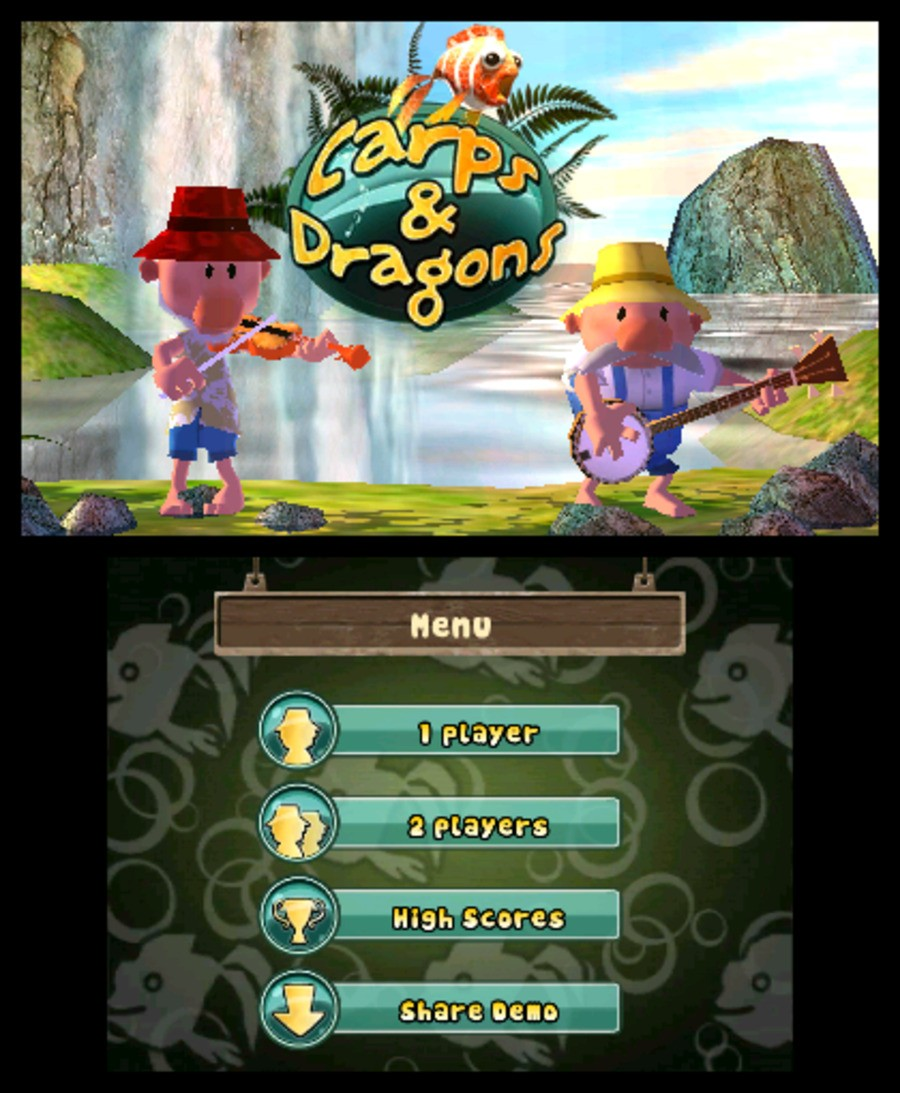 Carps & Dragons Screenshot