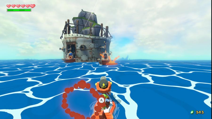 The Legend of Zelda: The Wind Waker HD Review - Screenshot 8 of 8