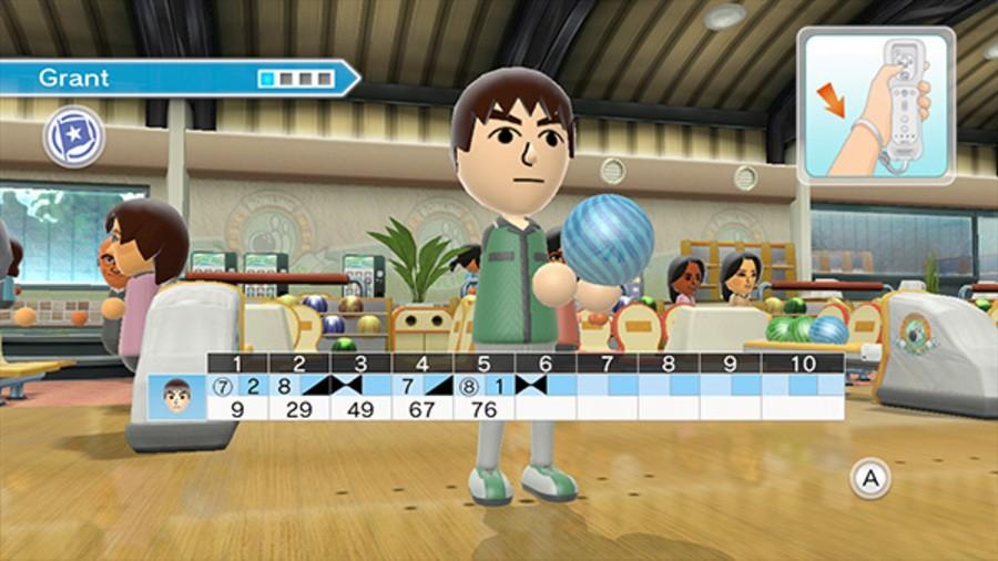Wii Sports Club: Bowling Screenshot