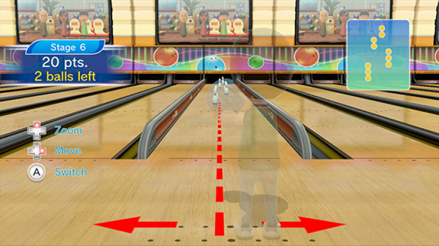 Wii Sports Club: Bowling Review - Screenshot 2 of 4