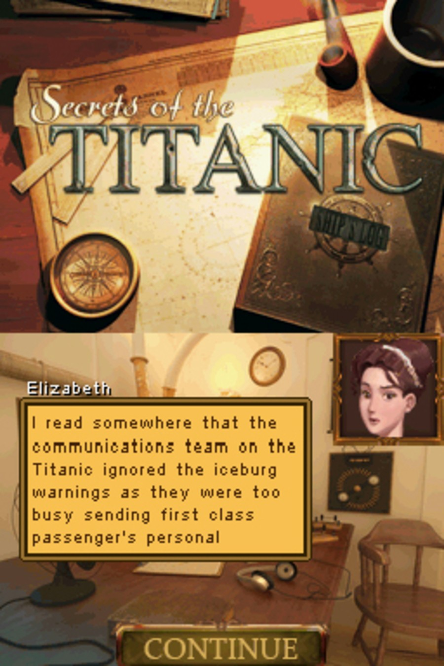 Secrets of the Titanic 1912-2012 Screenshot