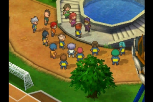 Inazuma Eleven 3 Screenshot