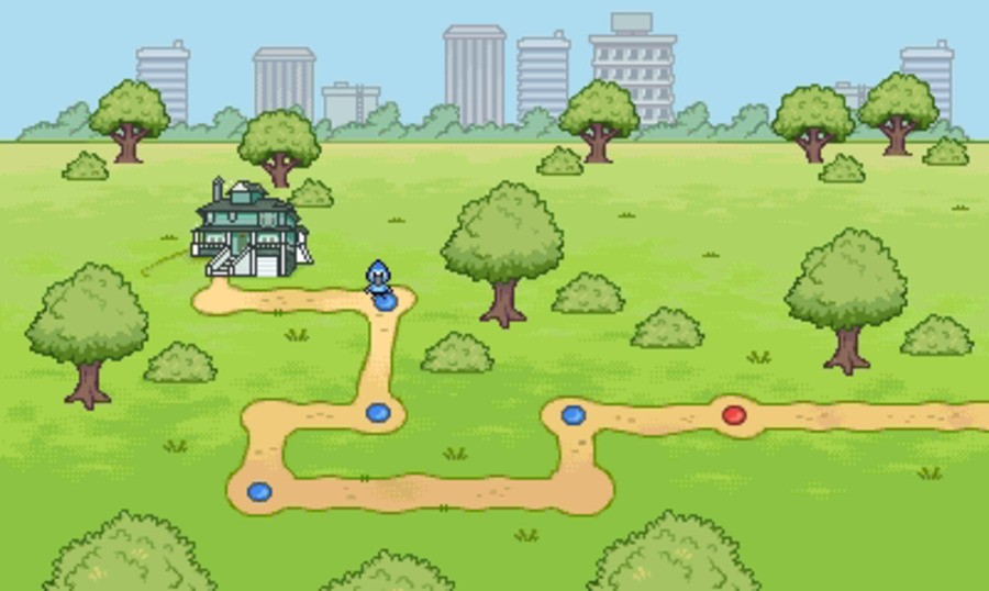 Regular Show: Mordecai and Rigby in 8-Bit Land Screenshot
