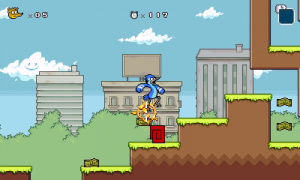 Regular Show: Mordecai and Rigby in 8-Bit Land Review - Screenshot 4 of 6