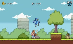 Regular Show: Mordecai and Rigby in 8-Bit Land Review - Screenshot 1 of 6