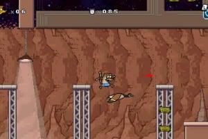 Regular Show: Mordecai and Rigby in 8-Bit Land Screenshot