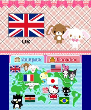 Around the World with Hello Kitty and Friends Review - Screenshot 1 of 3