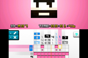 Picross e3 Screenshot