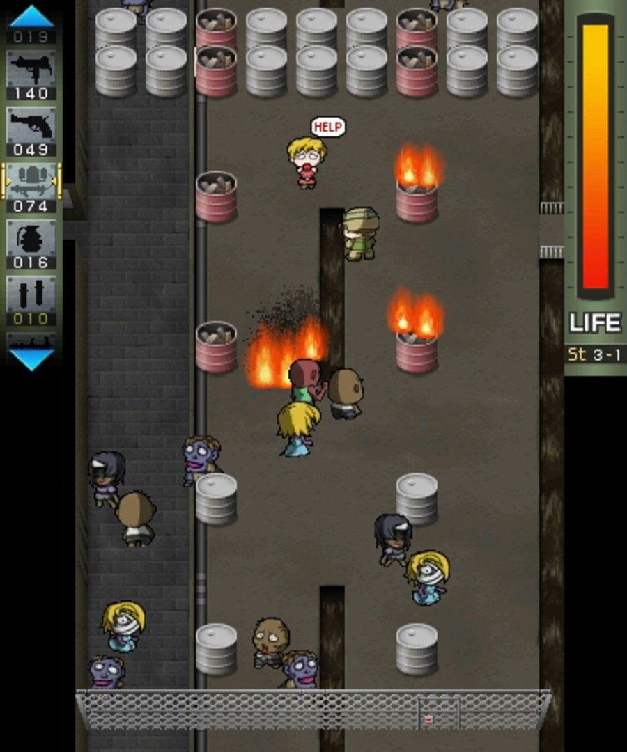 Escape From Zombie City Screenshot