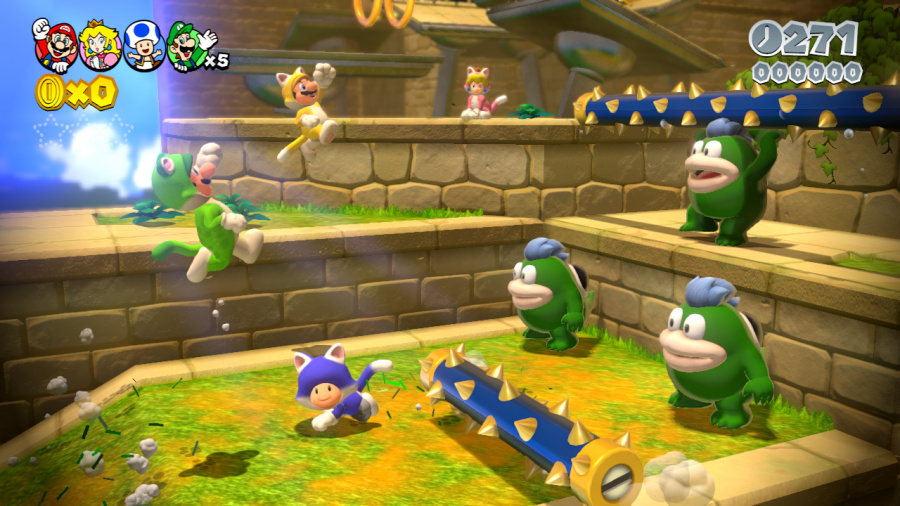 Super Mario 3D World Review - Screenshot 5 of 10