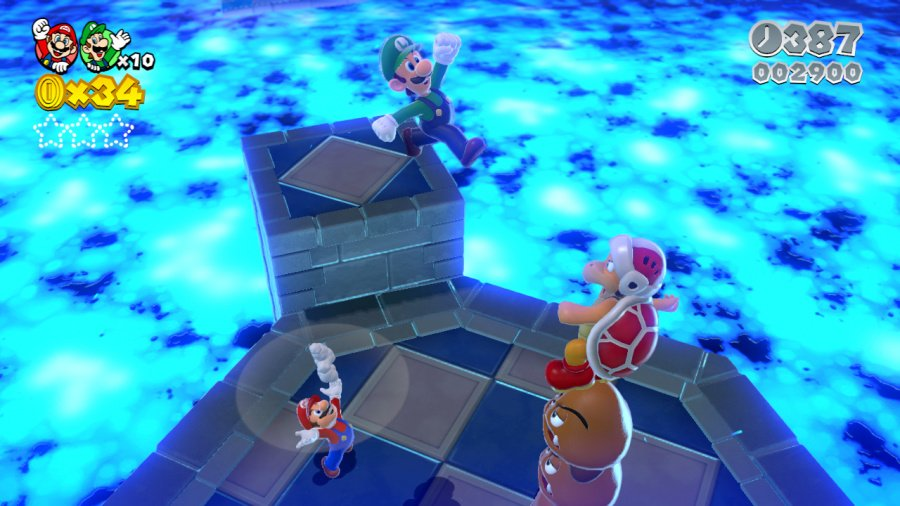 Super Mario 3D World Review - Screenshot 6 of 10