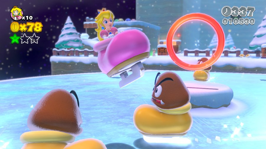 Super Mario 3D World Review - Screenshot 1 of 10