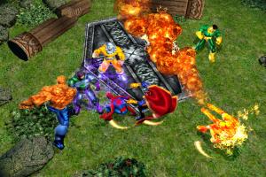 Marvel: Ultimate Alliance Screenshot