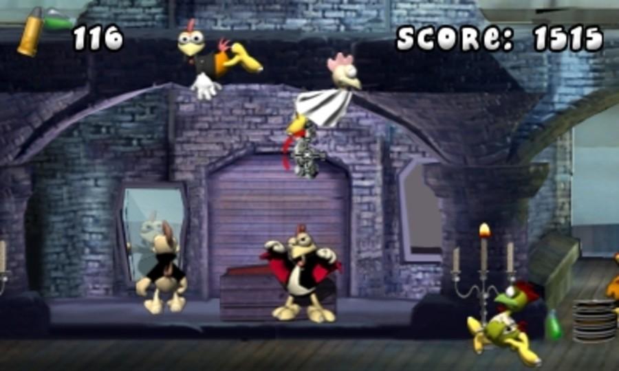 Crazy Chicken: Director's Cut 3D Screenshot