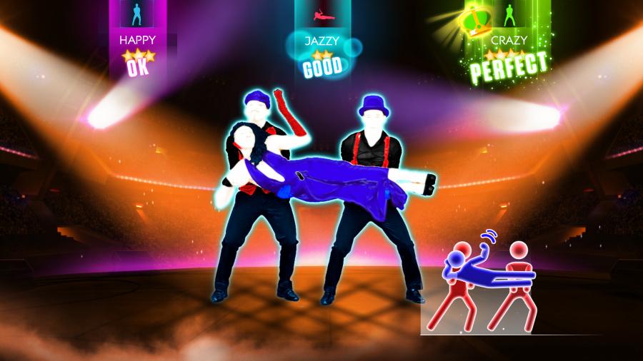 1370775152 Justdance2014 Screenshot Xbox360 Iwillsurvice1 Onstagechoreomode E3 130610 4. 15 Pmpt
