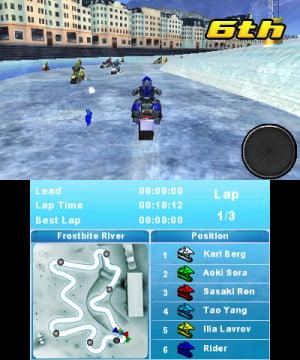 Snow Moto Racing 3D Review - Screenshot 1 of 3